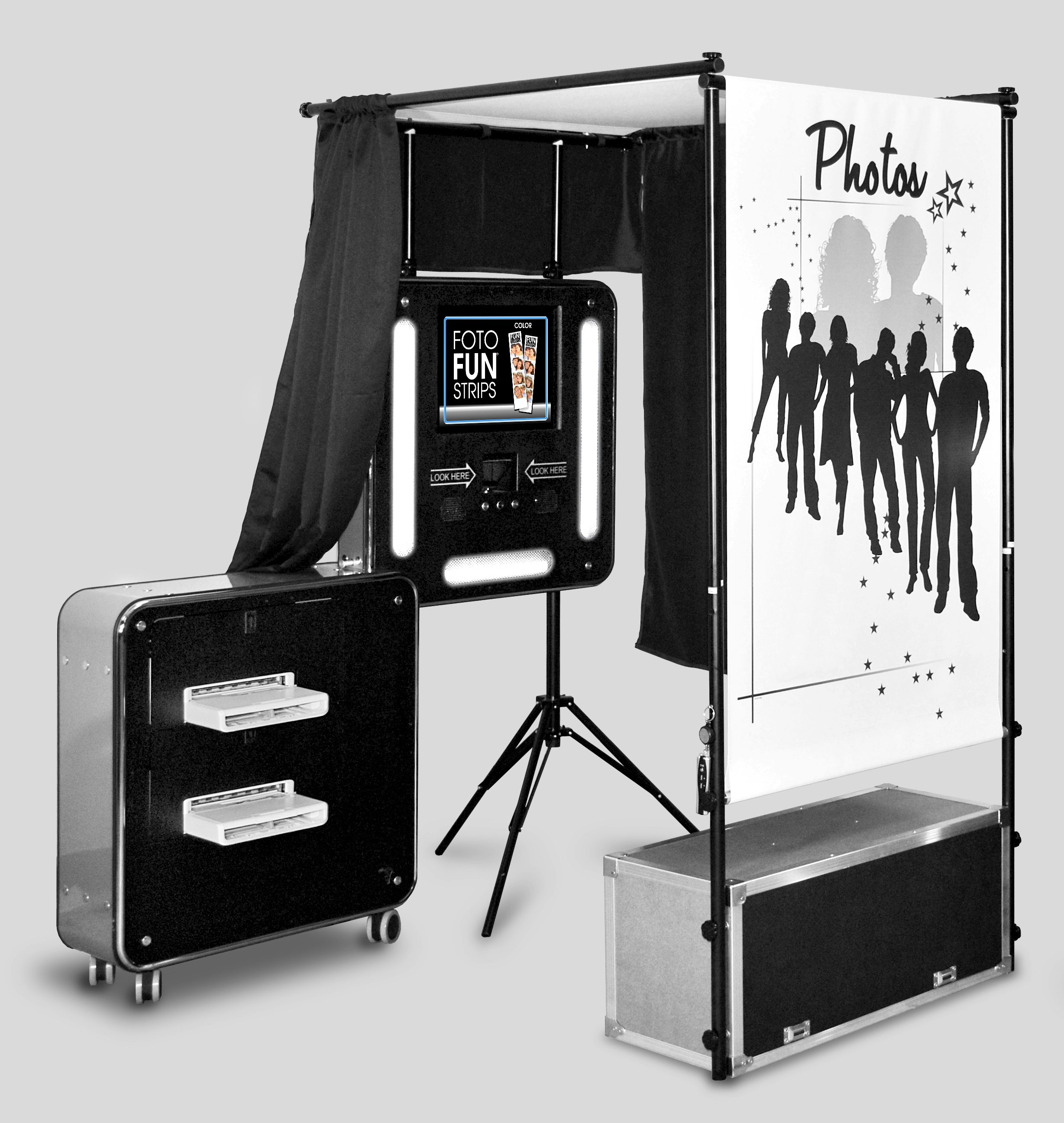 Engaged Films photo booth rental for weddings and events